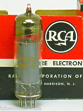RCA 6BQ5 EL84 SOLID-GETTER-RING TUBE MADE IN USA