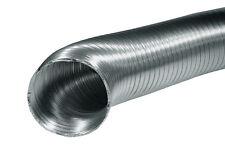 Gaine alu flexible cheminée Diam 200 mm Longeur 1 m extensible jusqu'à 2,7 m