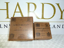 HARDY BROS VINTAGE CARDBOARD BOXES for PERFECT FISHING REELS - Small and Large