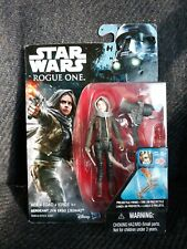 NEW STAR WARS ROGUE ONE SERGEANT JYN ERSO JEDHA FIGURE ~ 3.75""