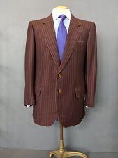 Brioni striped Blazer Wool & Cashmere Jacket Sausalito Uk 42 EU52 Large