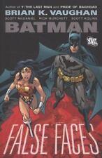 Batman: False Faces by Brian K. Vaughan (2008, Hardcover)