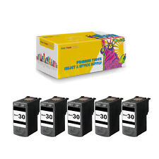 Compatible 5 x PG-30 Black Ink Cartridge for Canon Pixma MP210Pixma