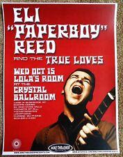 ELI PAPERBOY REED 2008 Gig POSTER Portland Oregon Concert