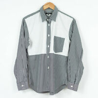 Comme Des Garcons Homme Plus Shirt Striped Made in Japan Mens Size XS