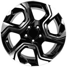 17 X 75 Wheels For Honda Pcd 5x1143 Et45 Cb 641 Rims Set 4 Black Machine Face Fits 2011 Toyota Camry