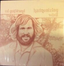 Ed Gutfreund, Harmonizing Word LP, Rare 1978 PRIVATE Xian/Folk NM- Shrink