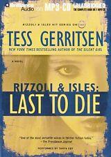 Tess GERRITSEN / [Rizzoli & Isles 10] LAST to DIE     [ Audiobook ]