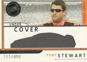 2007 Press Pass Eclipse Under Cover Drivers #UCD9 Tony Stewart 111/450 NICE!