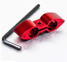 Honda CR125 00-01 Anodised Red Brake Line Hose Separator Kit