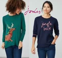 Joules Festive Crew neck Women's Christmas Jumper