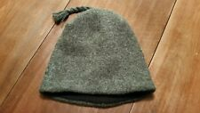 Ibex one-size (large, grey, new w/o tags) wool hat