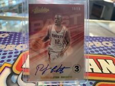 2018-19 Absolute Memorabilia Past Auto Level 3 04/10 Rafer Alston
