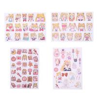 New Sailor Moon Girl Decorative Sticker Set Diary Album Label Sticker Pip WD