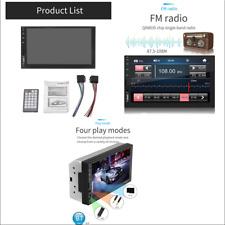 "7"" HD Touch 2-DIN In Dash Bluetooth Auto Car Stereo MP5 Player FM Radio +Remote"