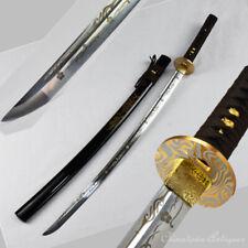 Samurai Sword Nihontou Katana Shrine Battle Sword Carbon Steel Blade #1372