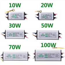 LED Driver Power Supply 10W/20W/30W/50/70/100W transformer AC85-265V Waterproof