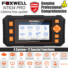 Foxwell NT634Pro OBD2 Automotive Diagnostic Tool ABS SRS SAS EPB Oil Scan Tool