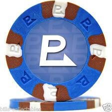 (2) 9 gm NEXGEN PRO CLASSIC P poker chip sample - Blue