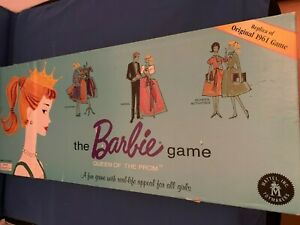 THE BARBIE GAME QUEEN OF THE PROM REPLICA OF THE ORIGINAL 1961 GAME IN GOOD COND