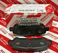 2008-2013 Toyota Highlander / HV Rear Cerami Brake Pads Genuine OEM 04466-AZ105