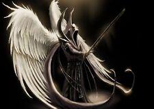 Fallen Angel Photo Poster Print ONLY Wall Art A4