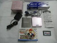 L790 Nintendo Gameboy Advance SP console Peal Pink Japan GBA w/box