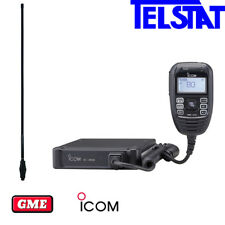 ICOM 450 IC-450 80 channel UHF CB Radio + GME AE4702B Black Antenna - AUS STOCK