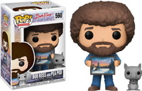 Bob Ross with Pea Pod Funko Pop Vinyl New in Box