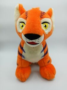 "Neopets Orange Kougra Tiger 11"" Plush Stuffed Animal Toy Talking, Light-Up 2003"
