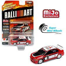 Johnny Lightning Import Heat 2004 Mitsubishi Lancer Evolution (Red) RALLI ART