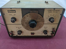 VINTAGE OLSON MODEL TE-189   SIGNAL GENERATOR UNTESTED