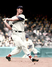 Ted Williams - 8x10 - COLORIZED (LEGENDARY HITTER)