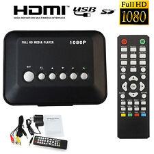 HD 1080P USB Hard Drive Multi Media Player MKV AVI RMVB DivX HDMI Out & Remote