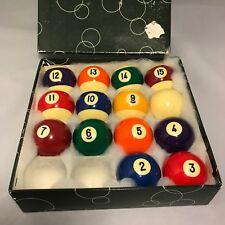 Vintage ARAMITH  BILLARD / POOL BALLS in box Mixed Group