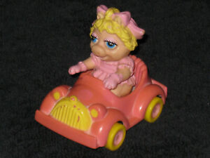 McDonalds Muppet Babies Miss Piggy - 1986 Happy Meal toys Muppets Set 1