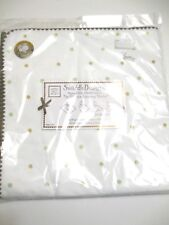"""SwaddleDesigns Receiving blanket tan and green dots with brown trim 42"""" X 42"""""""
