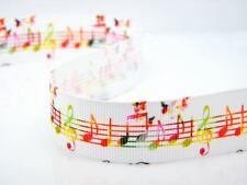 Colorido Arco iris Mariposa de Encaje Cinta de notas musicales Pastel Tarjeta notas musicales Reino Unido