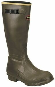 """Lacrosse 266040-8M 18"""" Insulated Burly Boots Size 8 Medium 13273"""