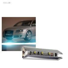 8x LED Iluminación de fondo Cristal Luces borde blanco luz fría con conector &