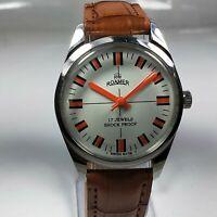 Vintage Roamer 17J Mechanical Hand Winding Movement Mens Analog Wrist Watch CA7