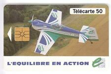 FRANCE TELECARTE / PHONECARD .. 50U F464 GEM1A AVION EURE B44057007 +LOGO2 C.25€