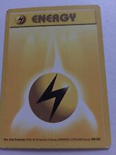 Electric Energy (100/102) Last Print – Base Set Pokemon Card [Played]