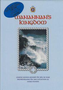 Isle of Man 2002 Manannan's Kingdom Year Book Coastal Scenes & Stamps for year