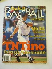 October 1997 Issue #151 Becket Baseball Card Monthly Magazine (GS2-18)
