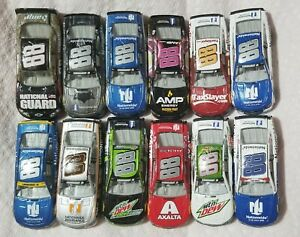 Dale Earnhardt Jr Nascar Authentics 12 Car Lot 1:64 Never Played With