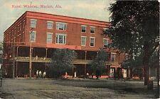 Alabama postcard Marion Hotel Wheeler