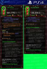 Diablo 3 Ps4 - Modded PRIMAL Set Weapon - Istvan's Paired Blades