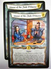 L5R CCG: HOUSE OF THE JADE PRINCESS 14/156 x2 : Wrath of the Emperor