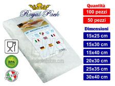 Royal Pack ECO7 Buste sottovuoto goffrate sacchetti sottovuoto goffrati alimenti